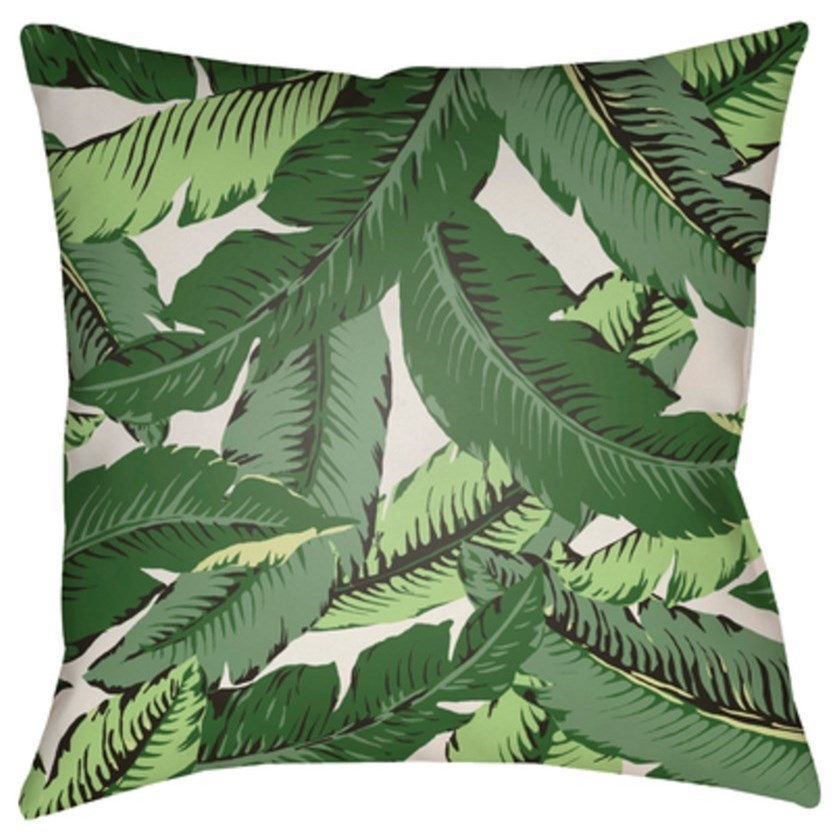 Banana Leaf Pillow by Ruby-Gordon Accents at Ruby Gordon Home