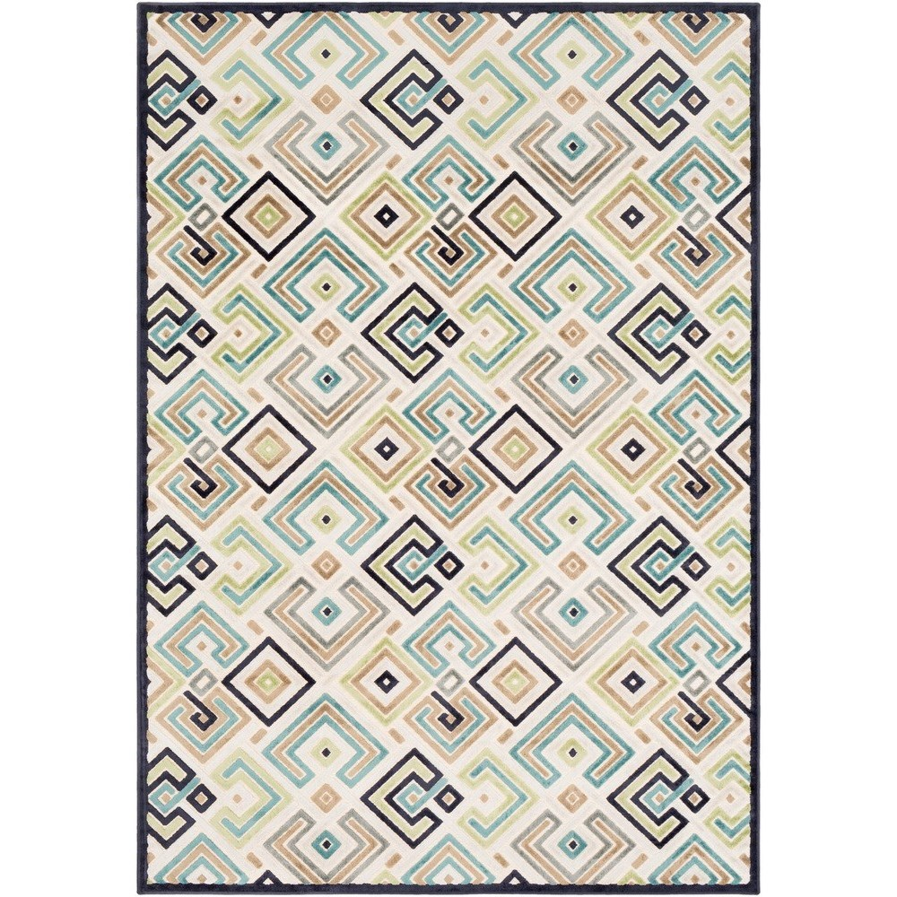 "Basilica 7' 6"" x 10' 6"" Rug by 9596 at Becker Furniture"