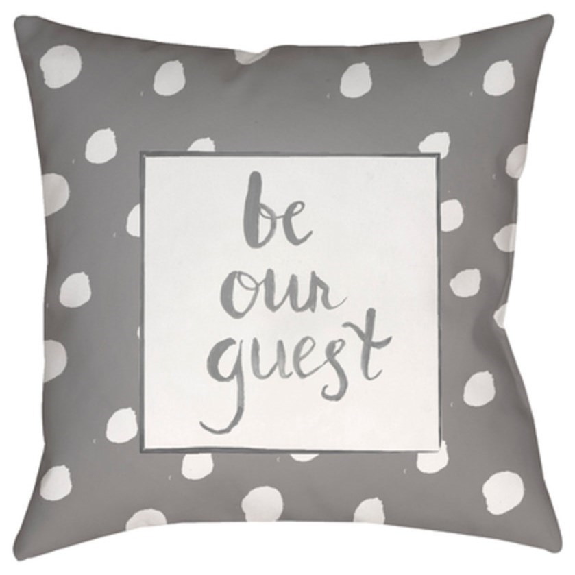 Be Our Guest Pillow by Surya at Coconis Furniture & Mattress 1st