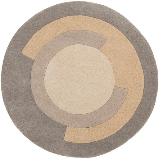 Beck 8' Round Rug by 9596 at Becker Furniture