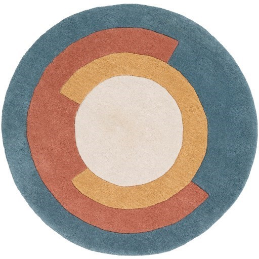 Beck 5' Round Rug by Ruby-Gordon Accents at Ruby Gordon Home