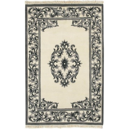 Bengal BLACK 2' x 3' Rug by Surya at Upper Room Home Furnishings