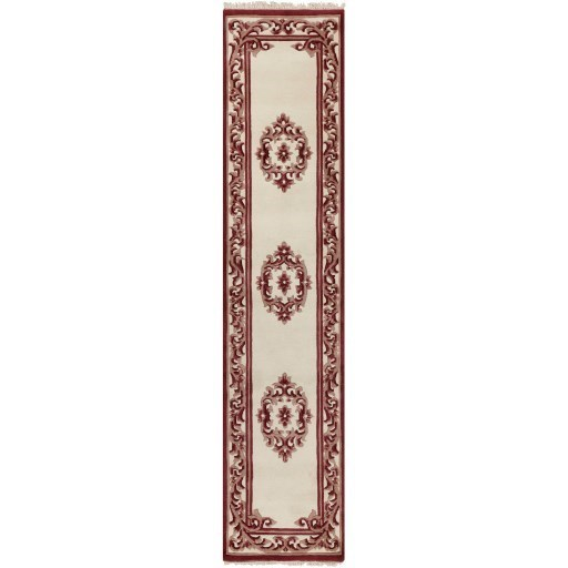 "Bengal BURGUNDY 3'6"" x 5'6"" Rug by Surya at Esprit Decor Home Furnishings"