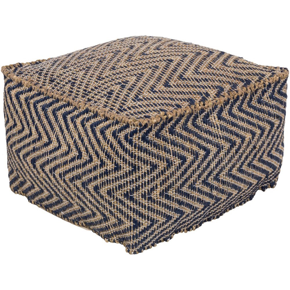 Bodega 20 x 20 x 12 Cube Pouf by Ruby-Gordon Accents at Ruby Gordon Home