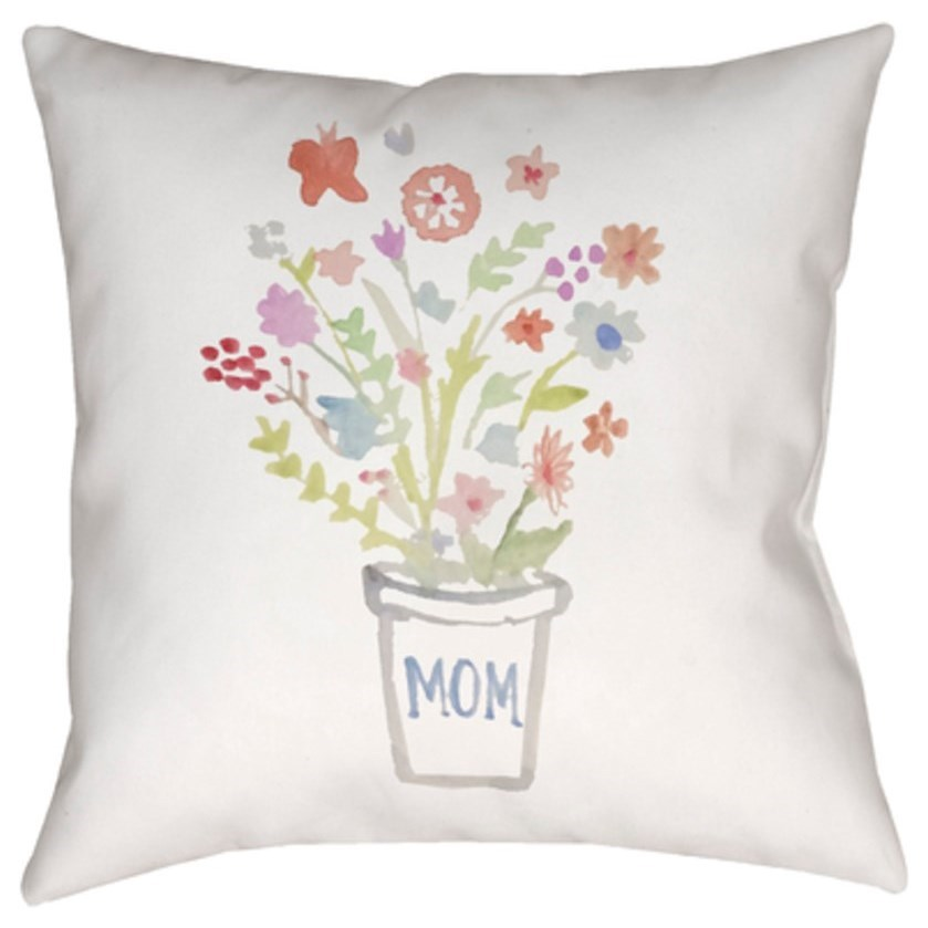 Bouquet II Pillow by Ruby-Gordon Accents at Ruby Gordon Home