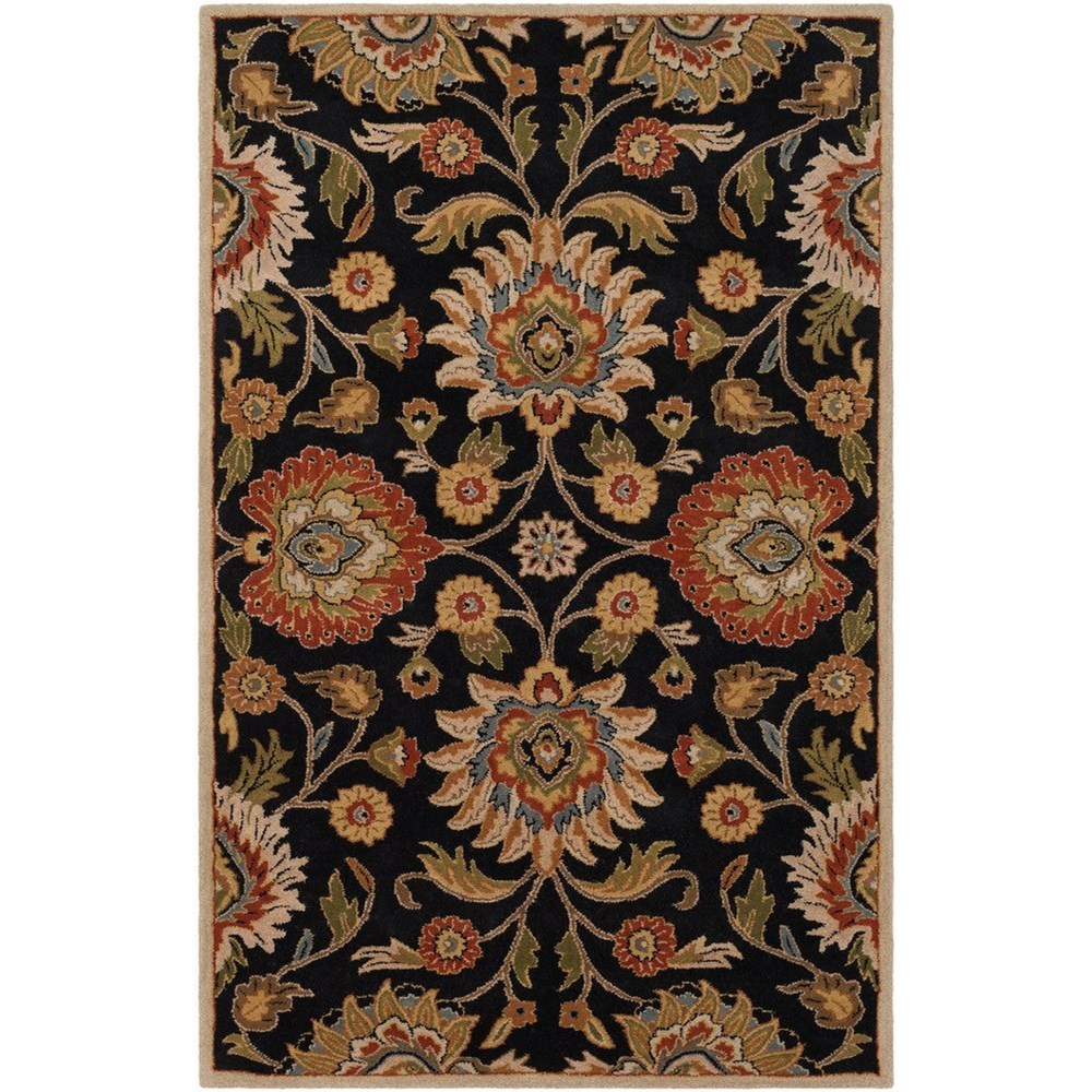 "Caesar 9'9"" Square Rug by Surya at Reid's Furniture"