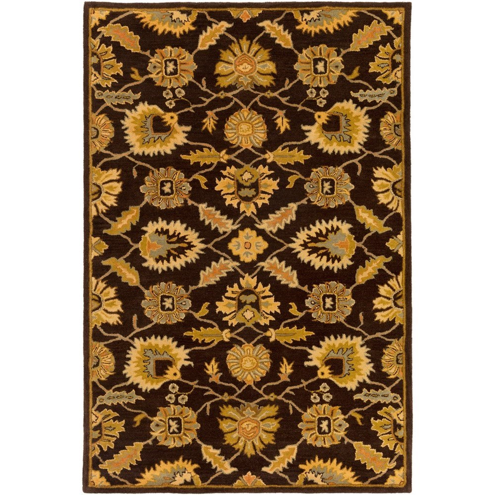 Caesar 6' Square Rug by Surya at Upper Room Home Furnishings