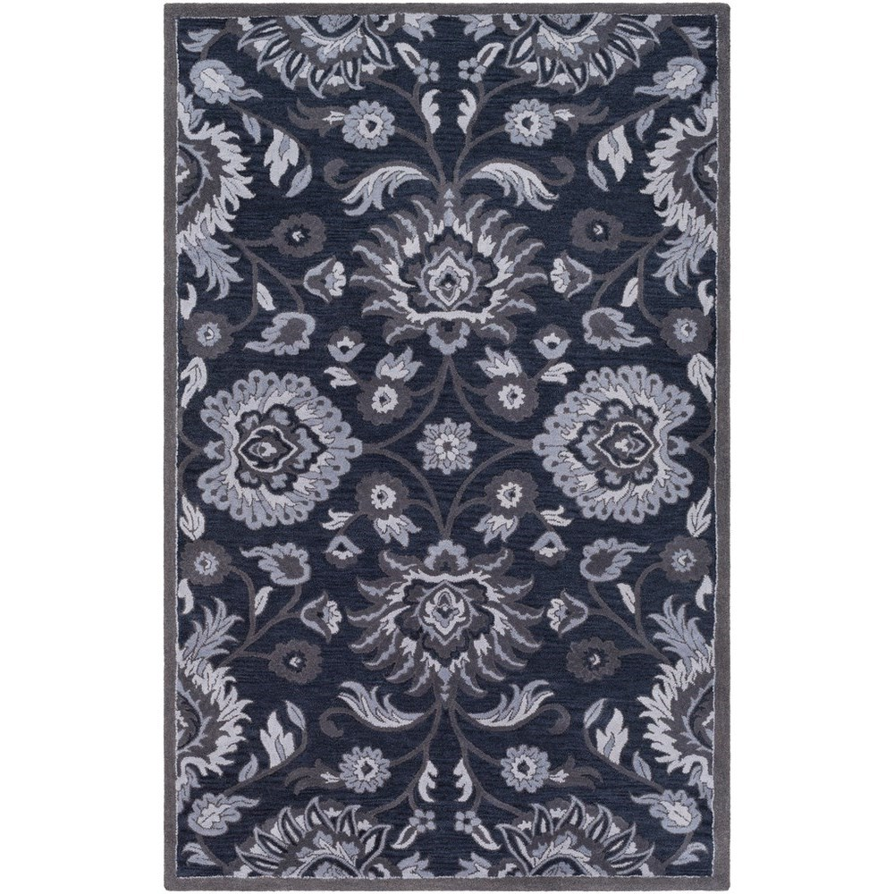 "Caesar 9'9"" Square Rug by Surya at Fashion Furniture"