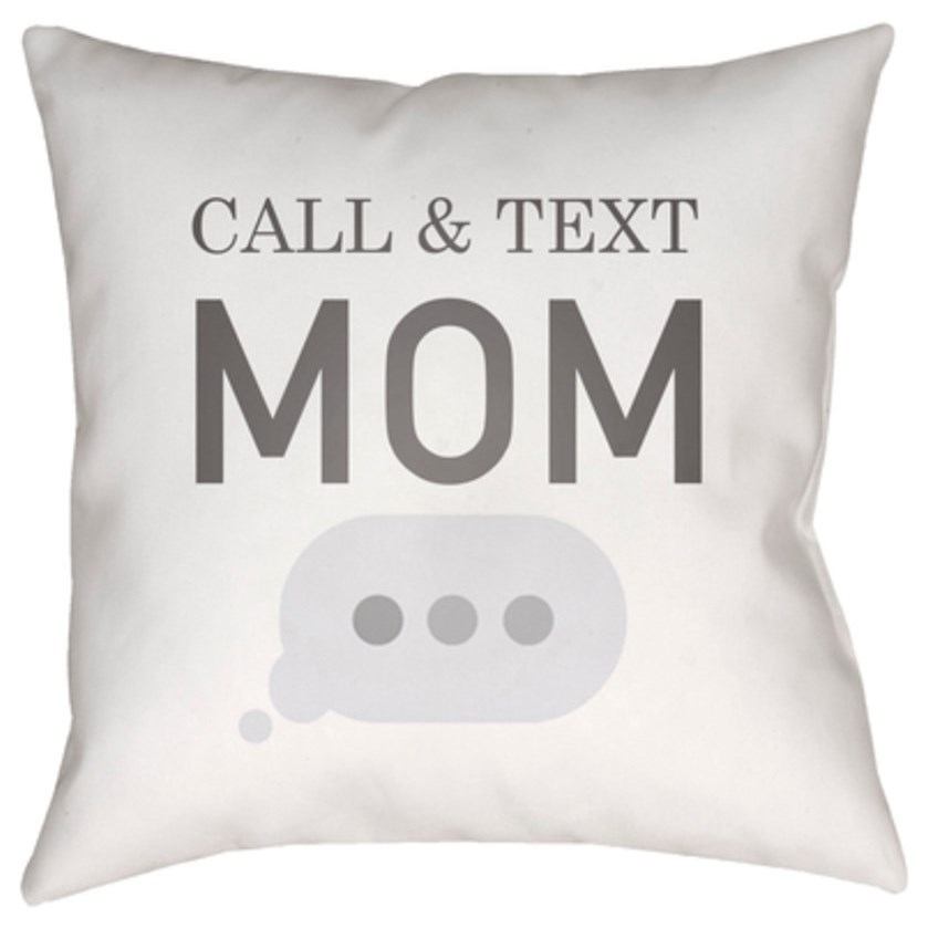 Call & Text Pillow by Surya at SuperStore