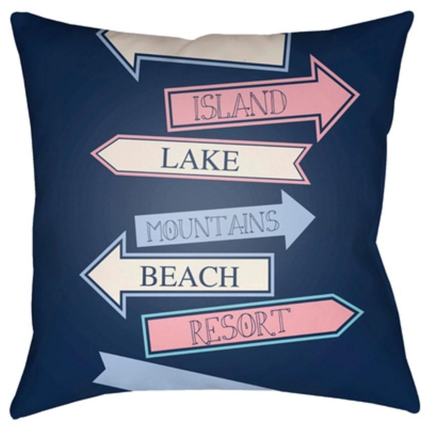 Carolina Coastal Pillow by Surya at SuperStore