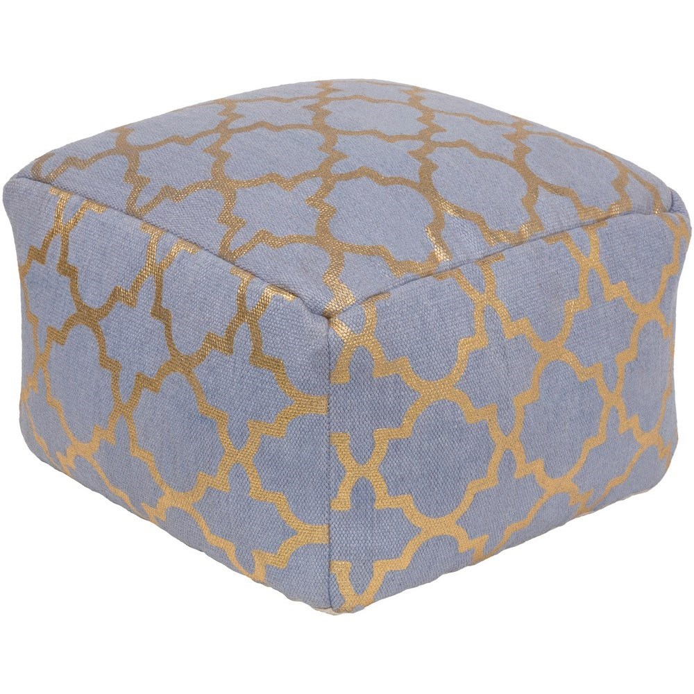 Cecily 20 x 20 x 12 Cube Pouf by Ruby-Gordon Accents at Ruby Gordon Home