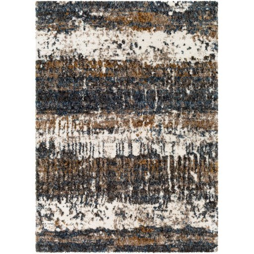 "Celestial Shag CSG-2302 6'7"" x 9' Rug by Surya at Suburban Furniture"