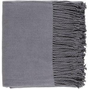 Charcoal Throw Blanket