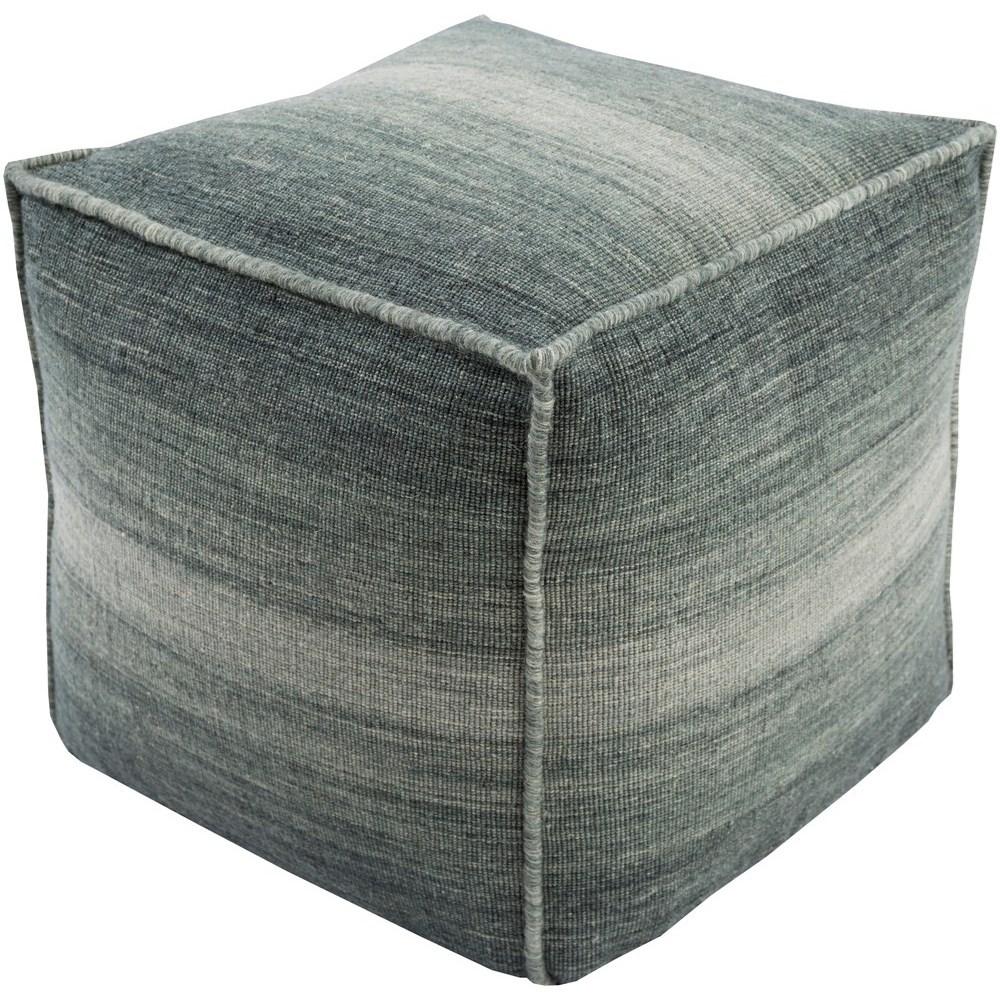 Chaz 18 x 18 x 18 Cube Pouf by Ruby-Gordon Accents at Ruby Gordon Home