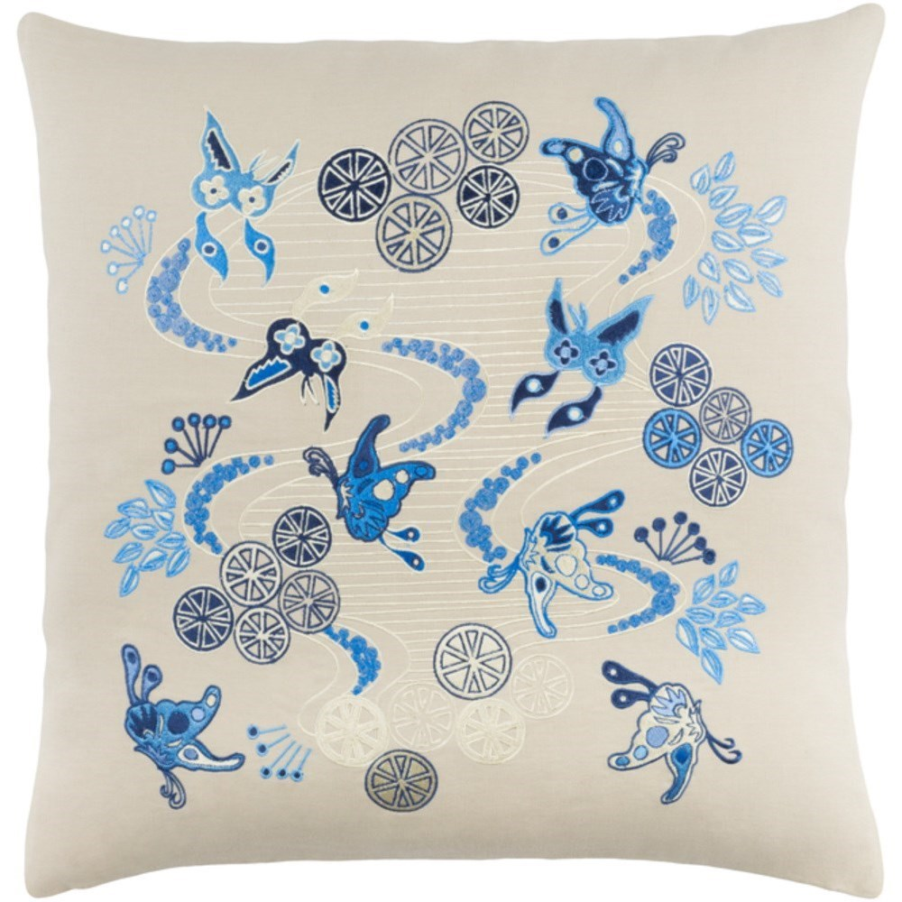 Chinese River Pillow by Ruby-Gordon Accents at Ruby Gordon Home