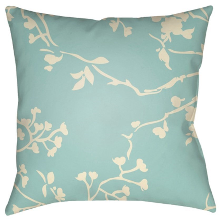 Chinoiserie Floral Pillow by Ruby-Gordon Accents at Ruby Gordon Home