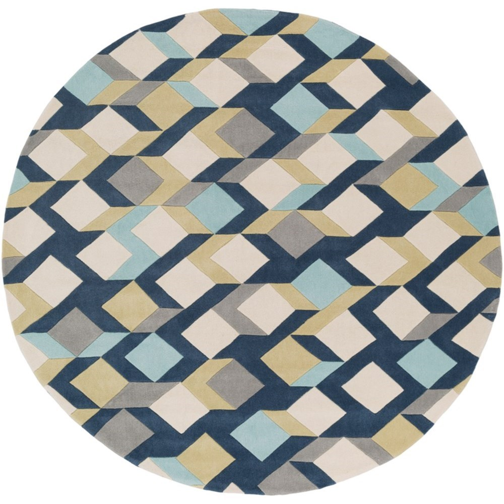 Cosmopolitan 8' Round Rug by Surya at Del Sol Furniture
