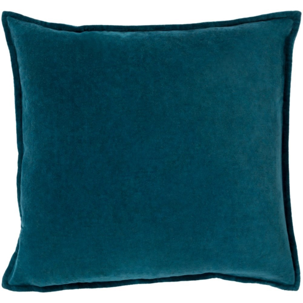 Cotton Velvet Pillow by Surya at Upper Room Home Furnishings