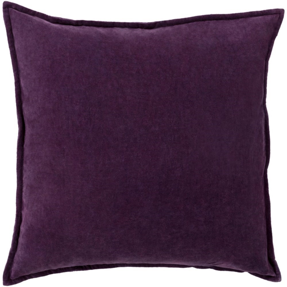 Cotton Velvet Pillow by Surya at Fashion Furniture