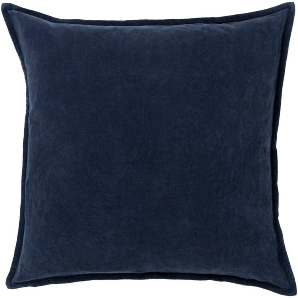 Cotton Velvet Pillow by 9596 at Becker Furniture