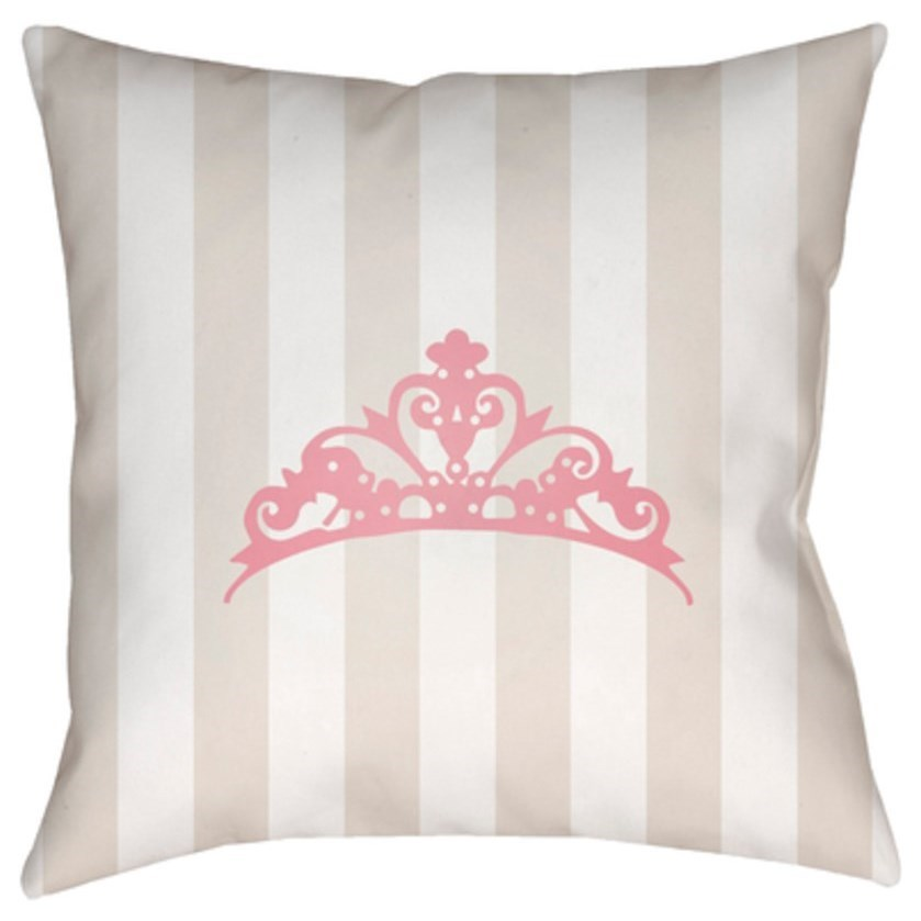 Crown Pillow by Surya at Lagniappe Home Store