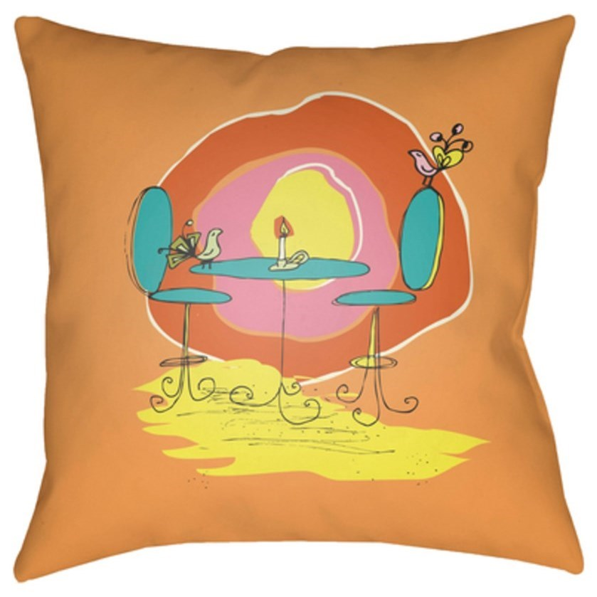 Doodle Pillow by Surya at Upper Room Home Furnishings