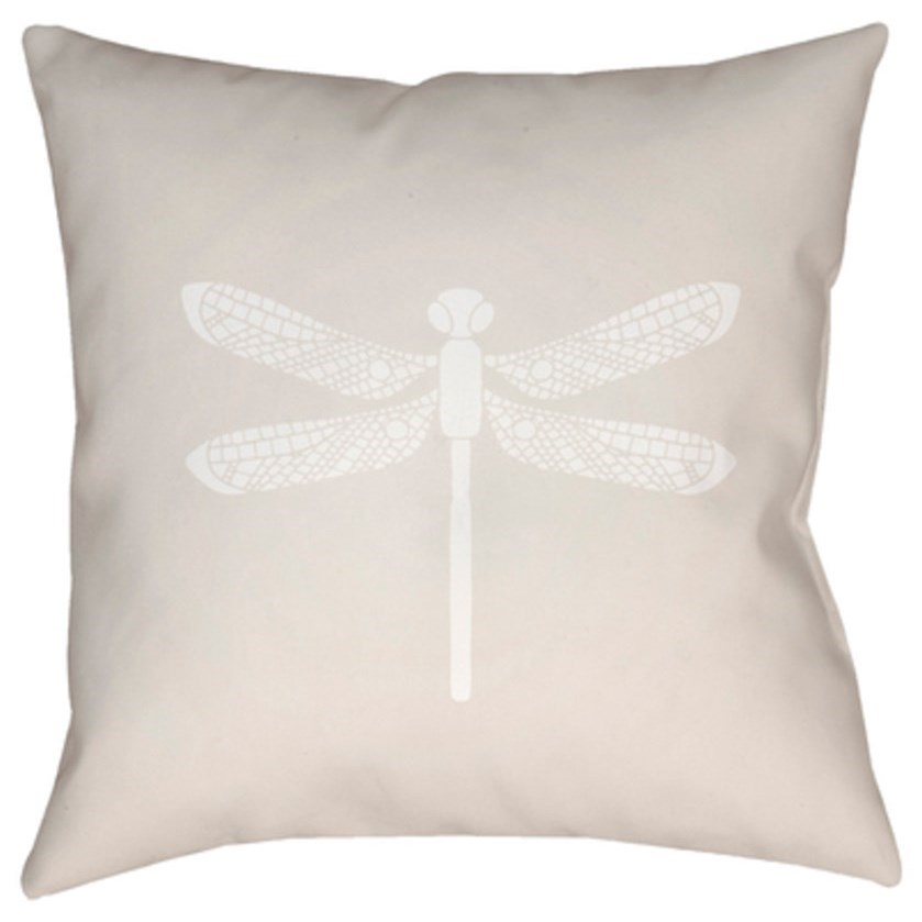Dragonfly Pillow by Surya at Dream Home Interiors