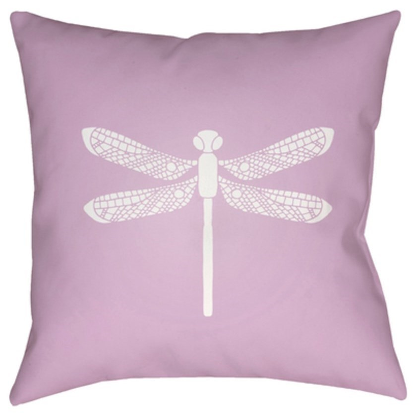 Dragonfly Pillow by Ruby-Gordon Accents at Ruby Gordon Home