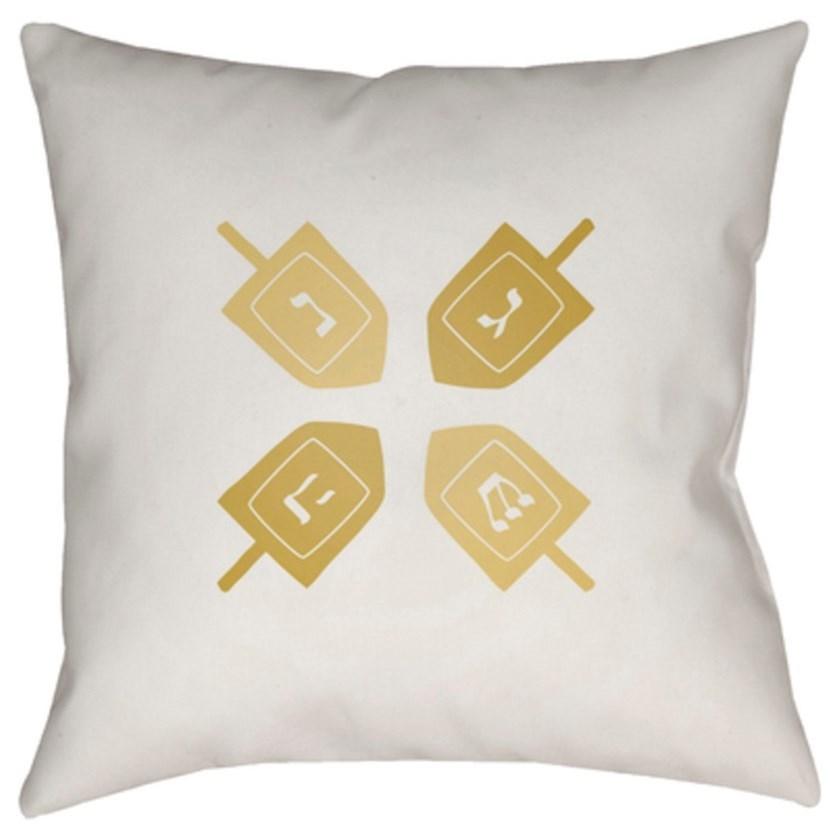Dreidel II Pillow by Ruby-Gordon Accents at Ruby Gordon Home