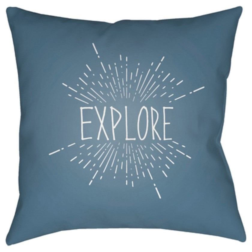 Explore II Pillow by Ruby-Gordon Accents at Ruby Gordon Home