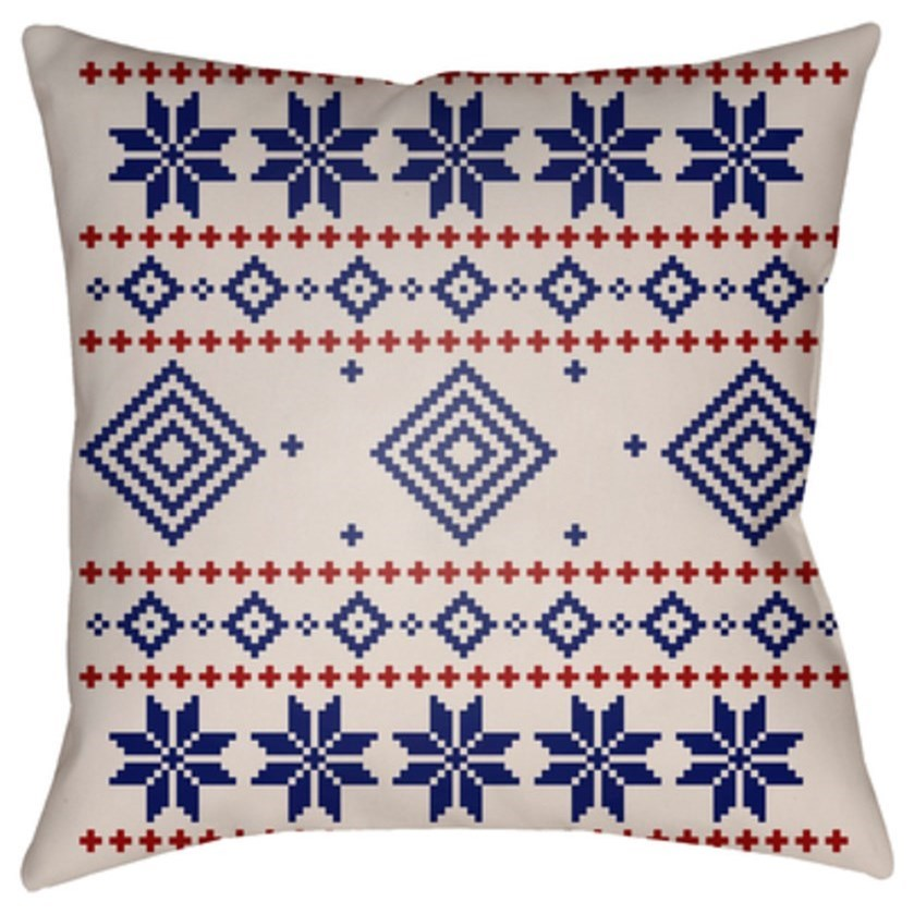 FAIR ISLE II Pillow by Ruby-Gordon Accents at Ruby Gordon Home