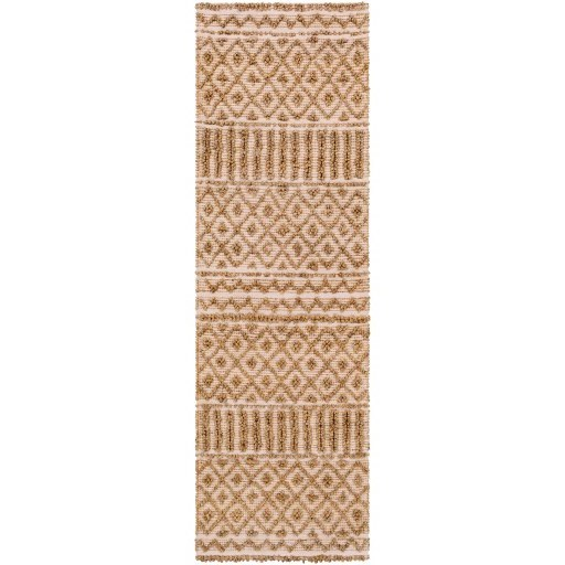 """Farmhouse Naturals 2'6"""" x 8' Rug by Surya at SuperStore"""