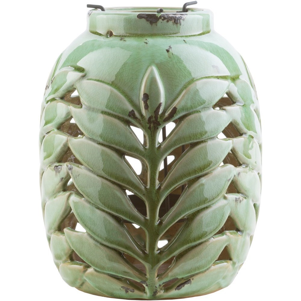 Fern Fern Lantern by Surya at Lynn's Furniture & Mattress