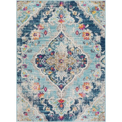 """Floransa 5'3"""" Round Rug by Ruby-Gordon Accents at Ruby Gordon Home"""