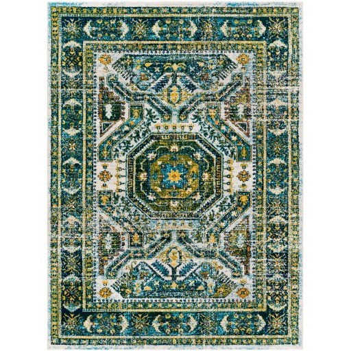 "Floransa 5'3"" x 7'1"" Rug by Surya at Dunk & Bright Furniture"