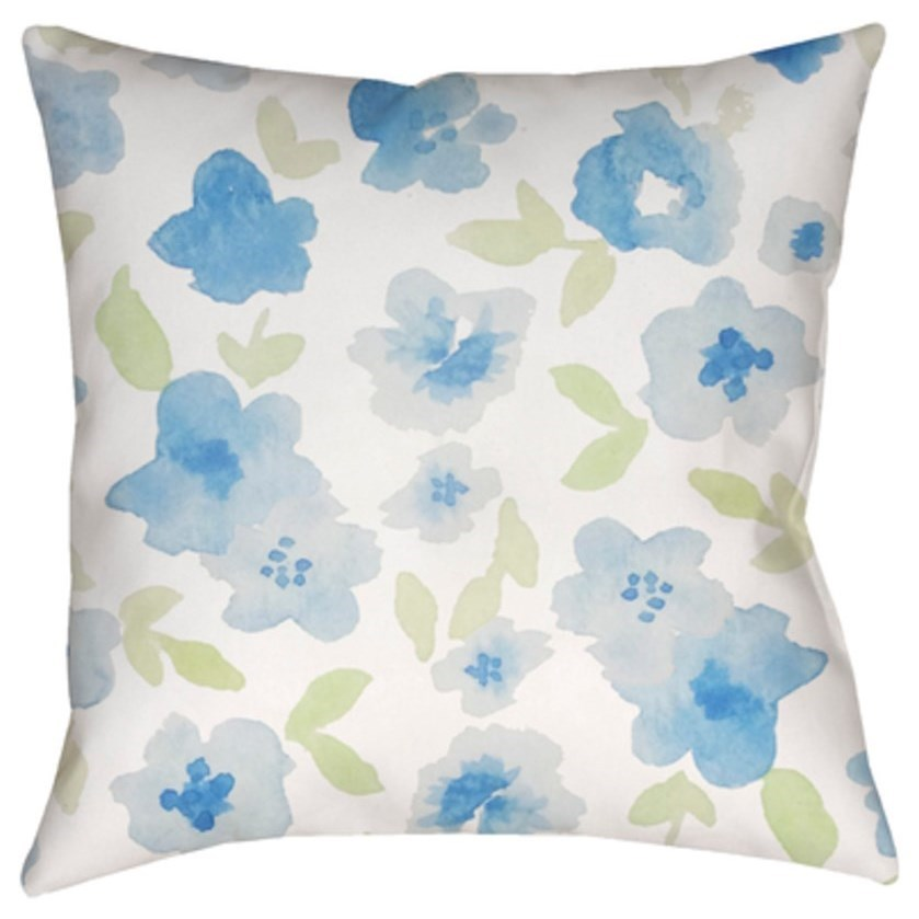 Flowers Pillow by 9596 at Becker Furniture
