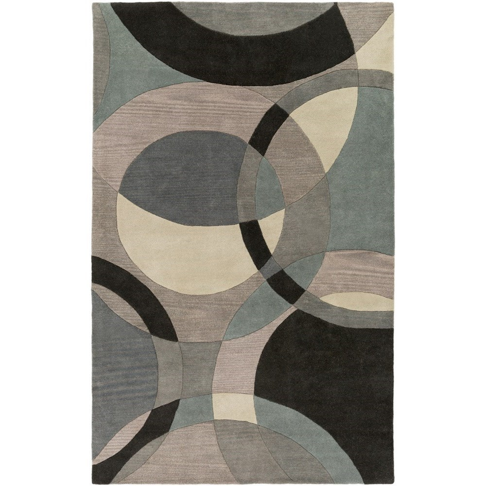 Forum 4' x 6' Rug by Surya at Dunk & Bright Furniture