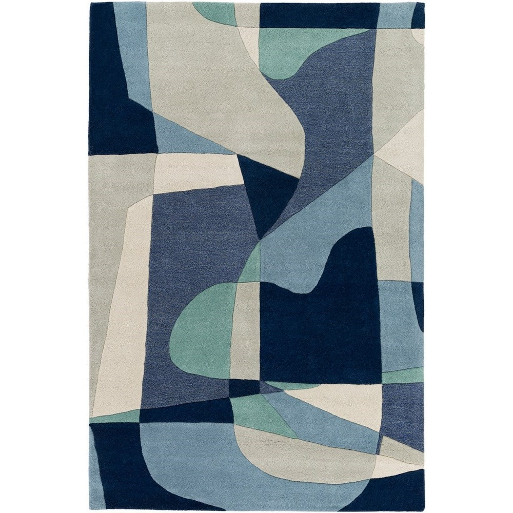 Forum 4' Square Rug by Surya at Wayside Furniture
