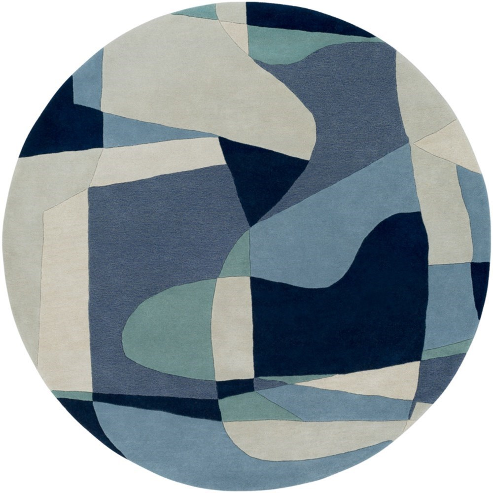 Forum 8' Round Rug by Surya at Dream Home Interiors