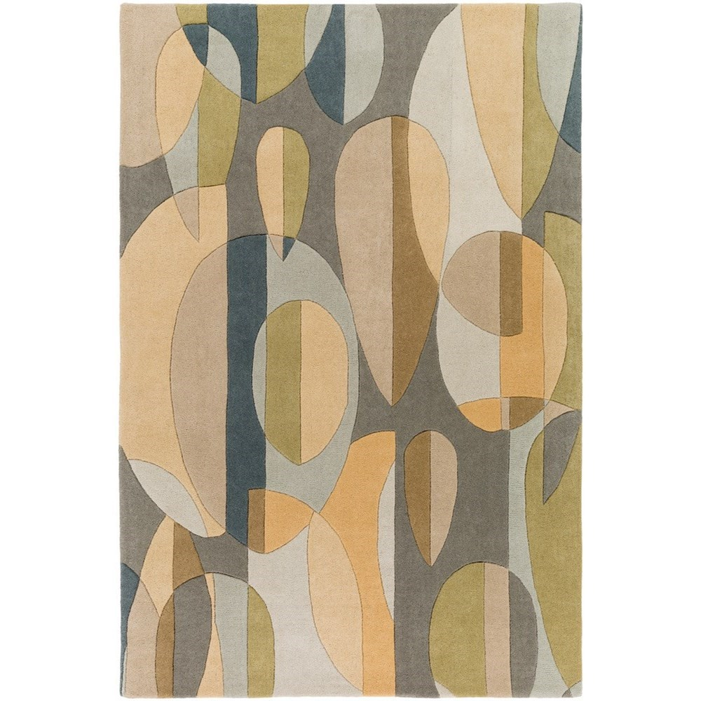 Forum 6' x 9' Kidney Rug by Ruby-Gordon Accents at Ruby Gordon Home