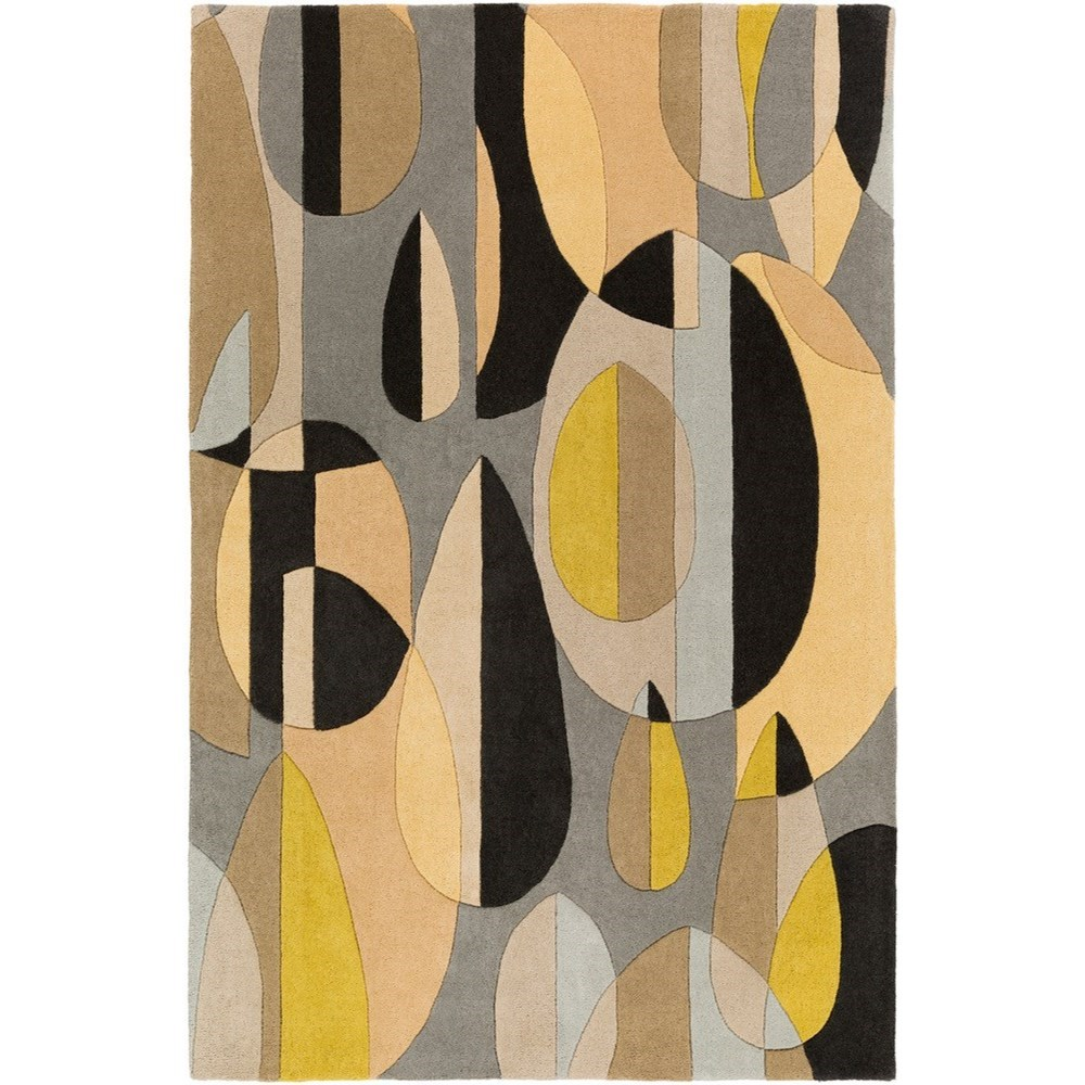 """Forum 9'9"""" Square Rug by Ruby-Gordon Accents at Ruby Gordon Home"""