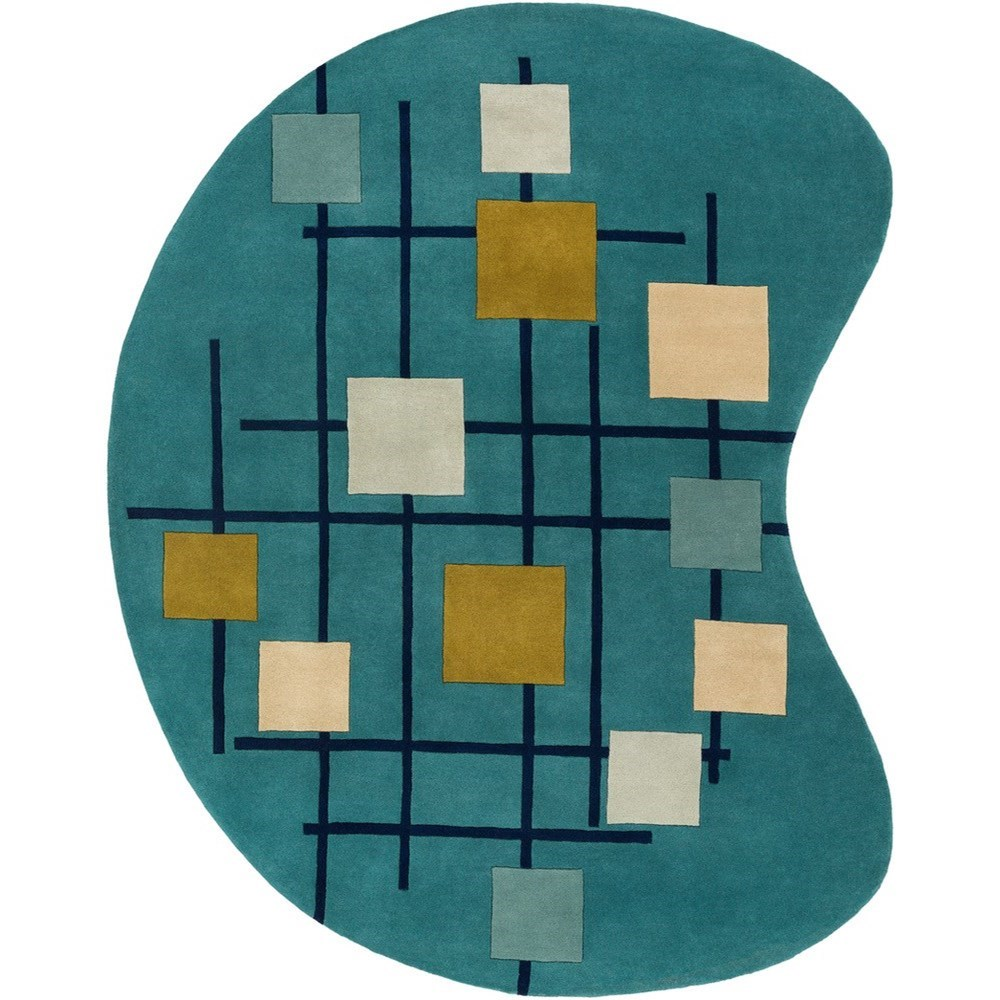 Forum 8' x 10' Kidney Rug by Ruby-Gordon Accents at Ruby Gordon Home