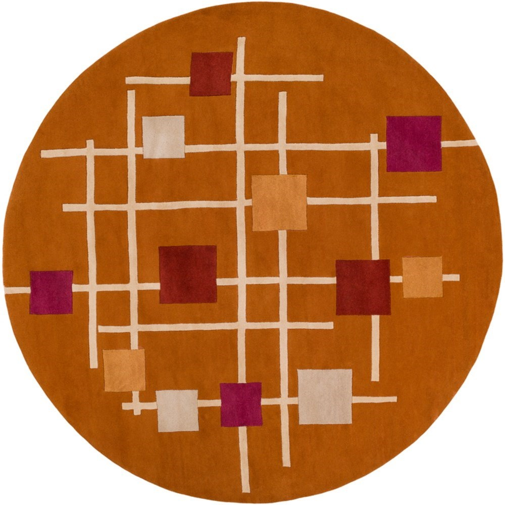 Forum 8' Round Rug by Ruby-Gordon Accents at Ruby Gordon Home