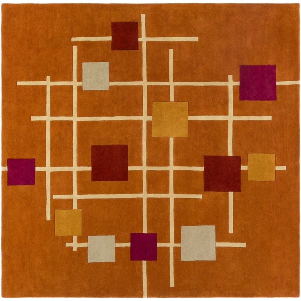 Forum 8' Square Rug by 9596 at Becker Furniture