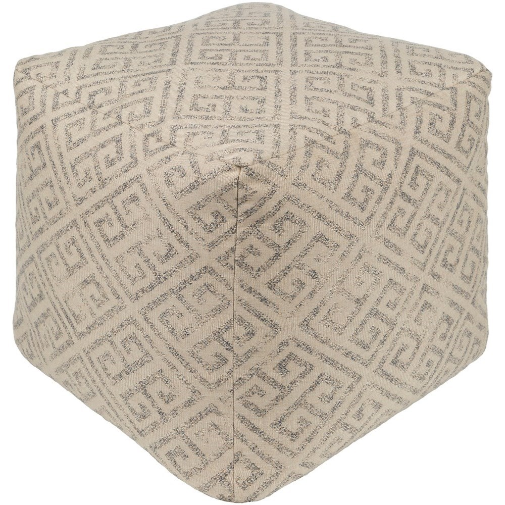 Geonna 18 x 18 x 18 Pouf by Ruby-Gordon Accents at Ruby Gordon Home