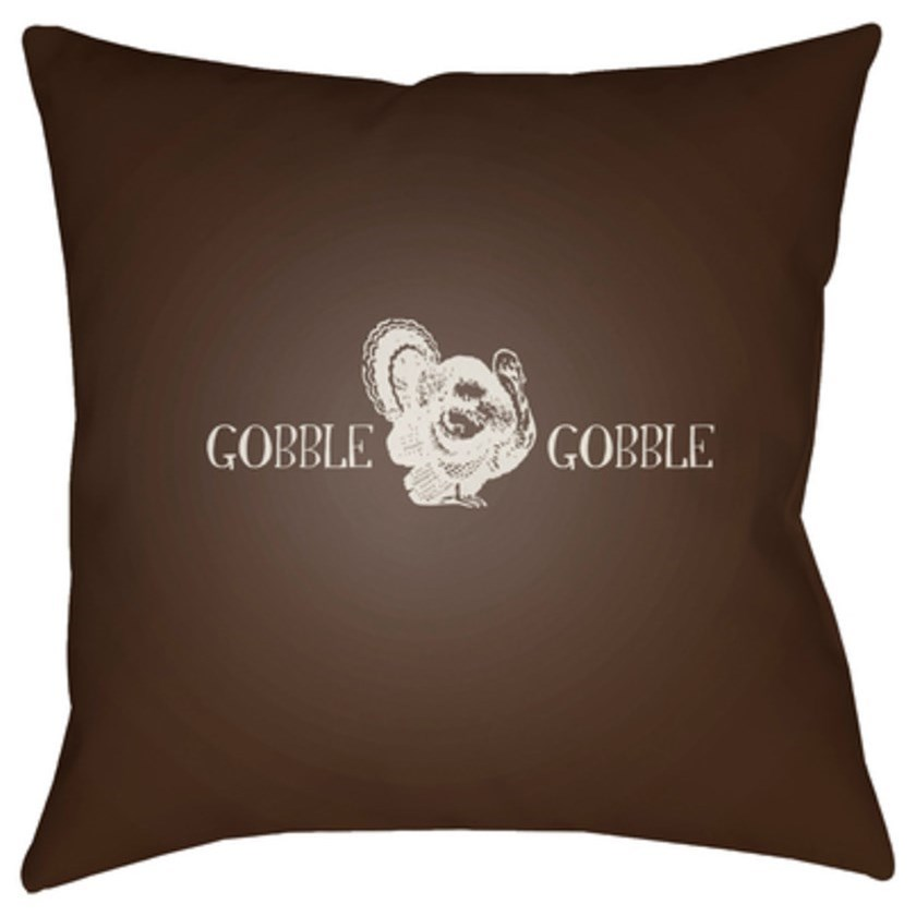 Gobble Gobble Pillow by Ruby-Gordon Accents at Ruby Gordon Home