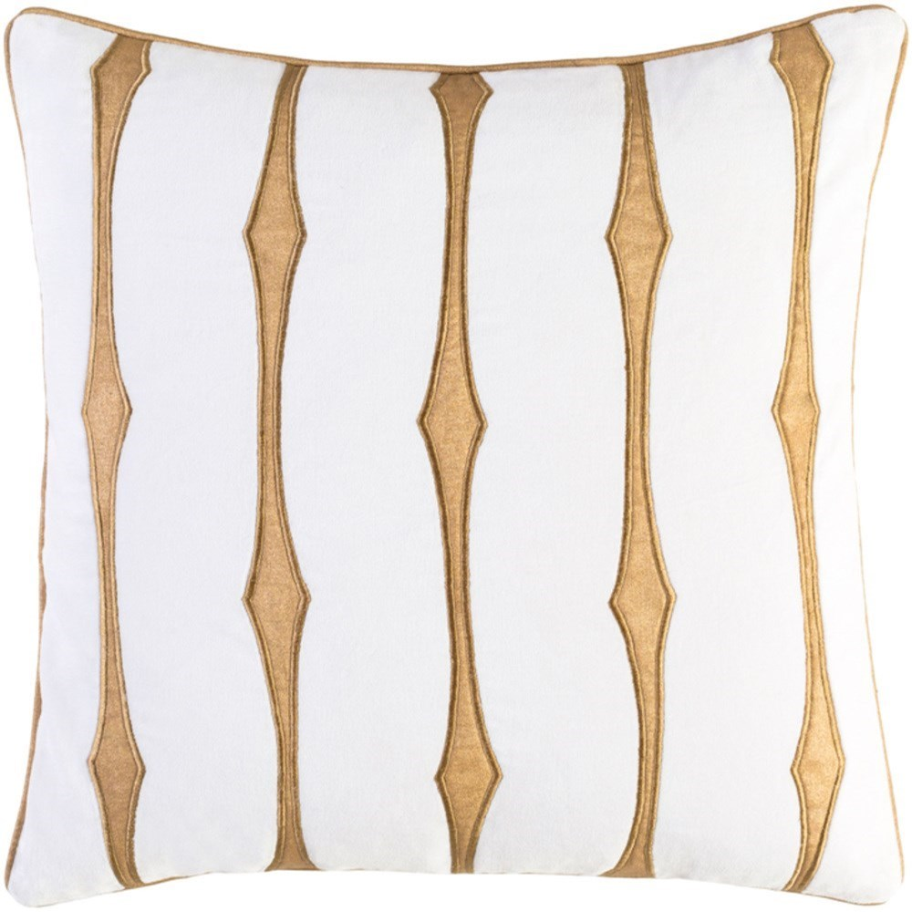Graphic Stripe Pillow by 9596 at Becker Furniture
