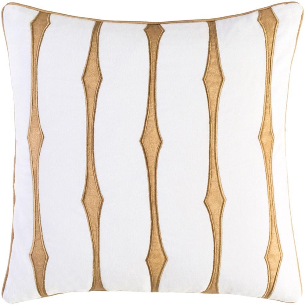 Graphic Stripe Pillow by Surya at Suburban Furniture
