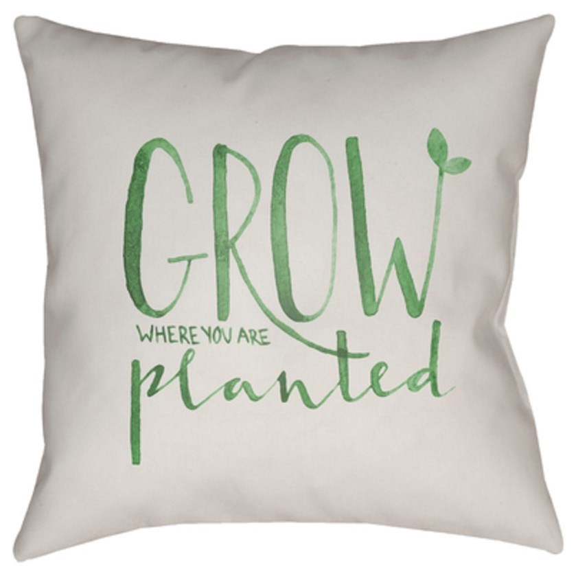 Grow Pillow by Ruby-Gordon Accents at Ruby Gordon Home