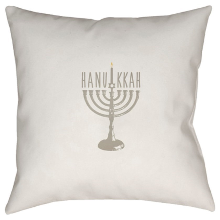 Hanukkah Menorah Pillow by Surya at Story & Lee Furniture